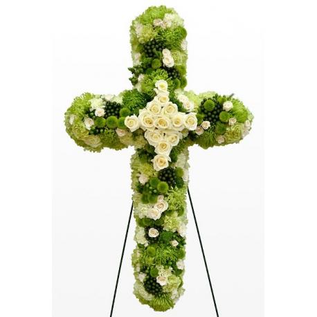 Cruce din flori