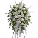 Jerba funerara trandafiri, crini, garoafe