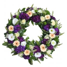 Coroane funerare gerbera si hortensie